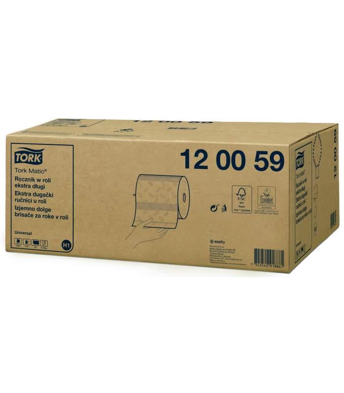 Tork Matic® papierové utierky v kotúči - extra dlhý kotúč (H1)