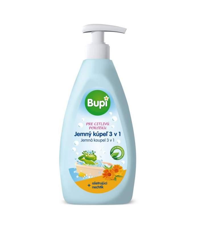Bupi BABY Jemný kúpeľ 3v1 - 500 ml