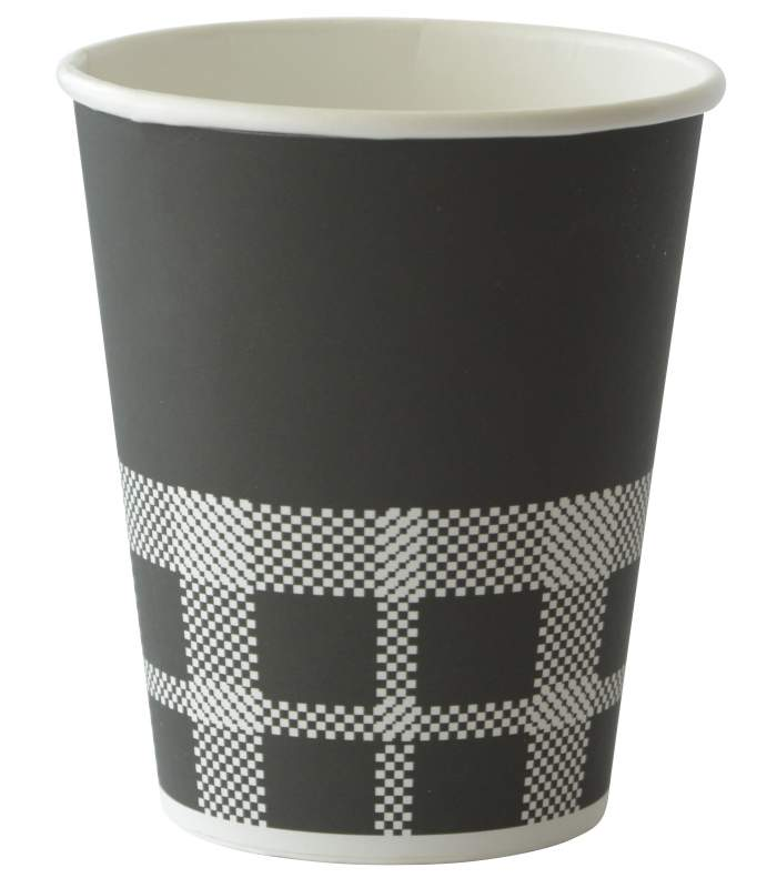 Duni pohár na horúce nápoje Izza Black 240ml
