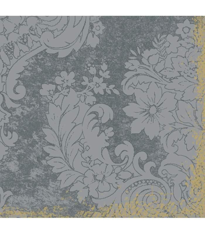 Luxusné obrúsky Dunilin - Royal grey 40x40cm 12ks/balíček