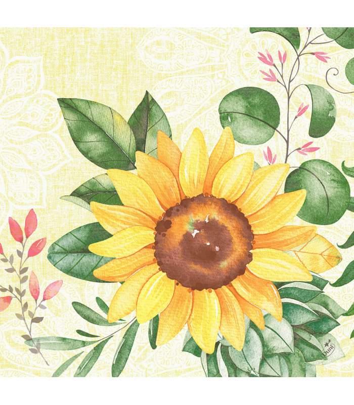 Servítky DuniSoft Sunflower - 40x40 cm (60 ks)