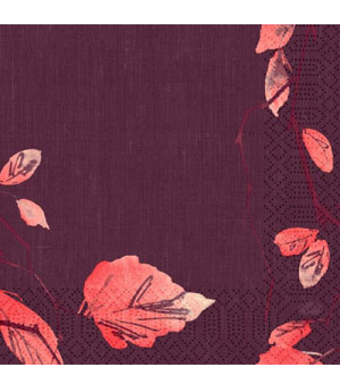 Servítky 33x33cm 3.vrstvové - Painted fall (50ks)