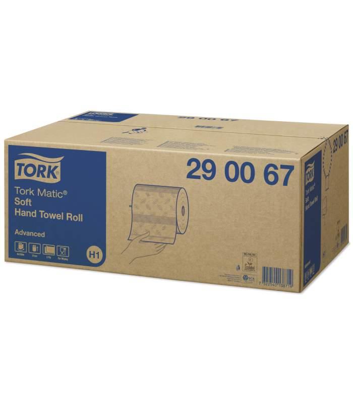 Tork Matic® Advanced papierové utierky v kotúči biele (H1)
