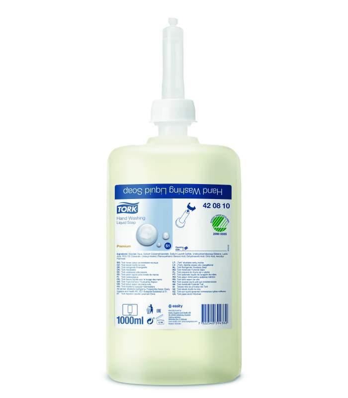 Tork tekuté mydlo (kozmetické) 1 liter (S1)