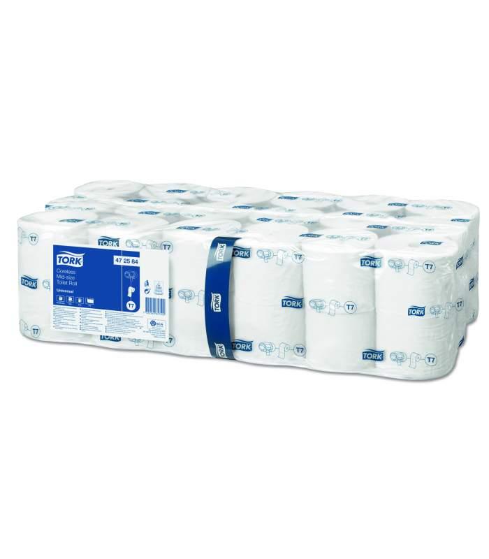 Tork Mid-Size Universal - toaletný papier bez dutiniek (T7)