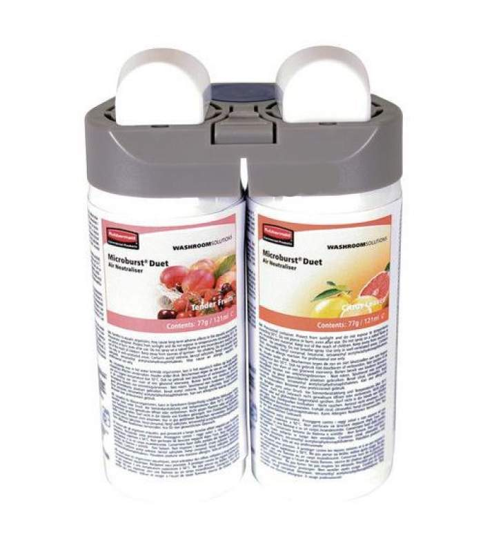 Náplň do osviežovača Microburst Duet 2x121 ml - Tender Fruits / Citrus Leaves