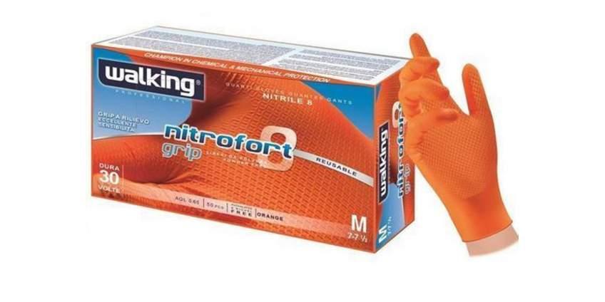Silné rukavice Nitrofort 8 grip
